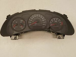 Speedometer Cluster Us Tachometer Fits 00 05 Chevy Impala Oem