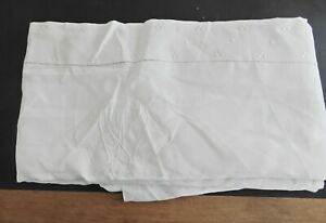 Antique Linen Sheet For A Twin Bed