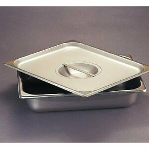 Polar Ware Stainless Steel Instrument Tray With Cover 12 1 4 X 7 4 5 X 2 1 5 New