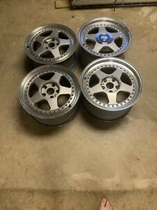 Oz Futura 3piece 5x114 3 17x8 5 45 17x9 5 45 Used Really Good Condition