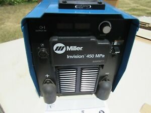 Miller Invision 450 Mpa W Miller 22a Wire Feeder