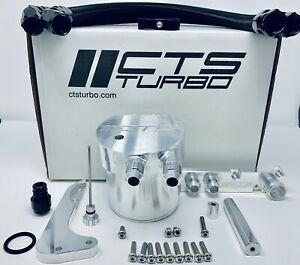 Cts Turbo Oil Catch Can Kit Fits Mk6 Golf R Mk2 Audi Tt A3 S3 2 0t Fsi