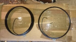 Hubcaps Circles Headlights Sev Marchal Citroen Traction 11cv