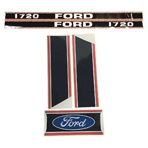 Decal Set For Ford New Holland 1720 Compact Tractor