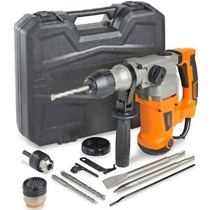 Vonhaus Rotary Impact Hammer Drill 10a Comes With Sds Drill Bits