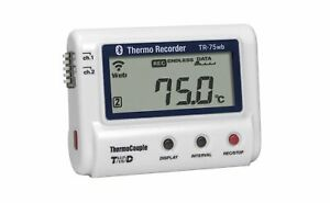 Tr 75wb Wifi Bluetooth Connected Dual Input Thermocouple Data Logger