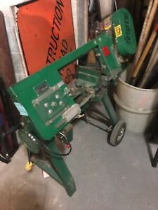 Greenlee Metal Band Saw Model 1399 Pick Up Only
