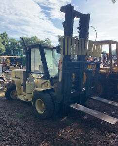 2005 Hyster H135xl2 13500lb Propane Forklift W Cab Needs Work Coming Soon