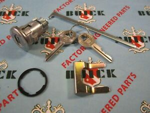 1955 1958 Buick Trunk Lock With 2 Authentic Gm Keys