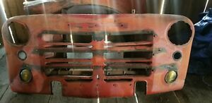 1948 1949 1950 1951 Dodge Pilothouse B series Truck Front Grill And Core Support