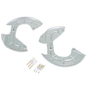 94 04 Ford Mustang Front Brake Rotor Dust Shield Kit Lh Rh Winter Pony Sale