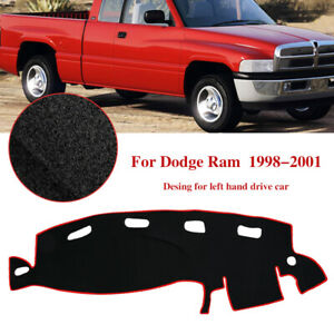 Fit For 1998 2001 Dodge Ram 1500 2500 3500 Dash Cover Mat Dashboard Pad Sunshade