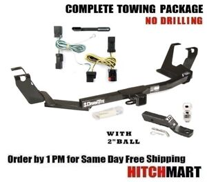 Trailer Hitch Package 2 Ball For 2005 2007 Dodge Grand Caravan Town Country
