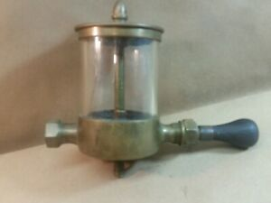 Sherwood Mfg Co Acorn Top Lubricator Oiler Hit Miss Steam Engine Tractor
