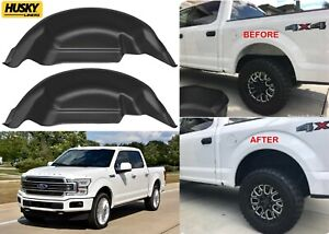 Husky Liners 79121 Black Rear Wheel Well Guards For 2015 2020 Ford F150 New Usa