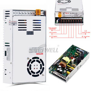 Dc 0 48v 10a 480w Voltage Current Digital Display Adjustable Volt Power Supply