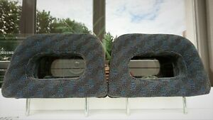 Honda Civic 1996 2000 Genuine Rear Seat Headrests Ek3 Ej9 Ek4 Sir Jdm Edm Rare