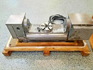 Used Haas Tr160 Brushless Trunnion Sigma One Rotary Table Indexer 4th