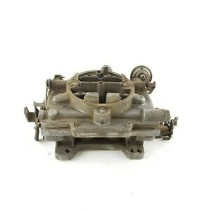 1967 Carter Carburetor 383 Automatic Transmission Plymouth Dodge Mopar 4299s