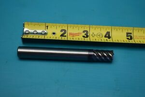 Used Hanita Solid Carbide End Mill 1 2 7s25