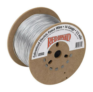 Red Brand Electric Electric Fence Wire 1 2 Mi