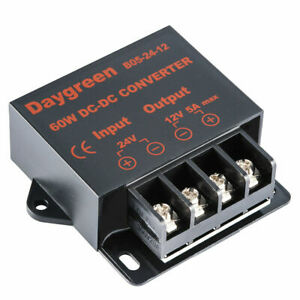 Dc Dc Converter 24v Down To 12v Volt Voltage 5a Buck Module Reducer Regulator