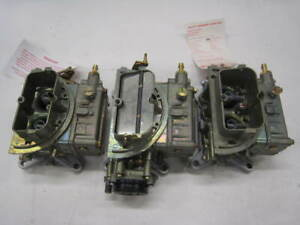 Ford New 390 406 Holley Tri Power 3x2 Trips List 2436 2437