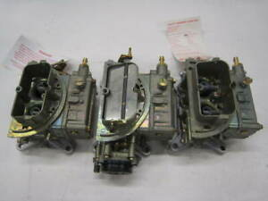 Ford New 390 406 Holley Tripower 3x2 Trips List 2436 2437