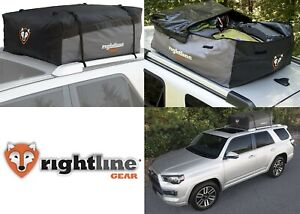 Rightline Gear Sport 2 Car Top Carrier 15 Cu Ft Waterproof New Free Shipping Usa
