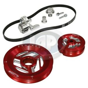 1200 1600cc Vw Mst Raptor Serpentine Pulley System Kit Anodized Red M10400410