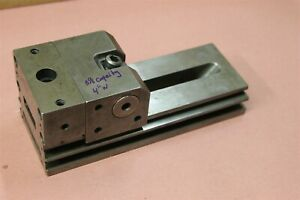 Precision Machinist Grinding Vise 4 Wide Jaws 5 1 8 Capacity Vise