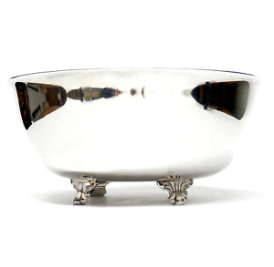 Vintage Wallace Silver Footed Bowl 5 Signed Model M637 Silver Plate