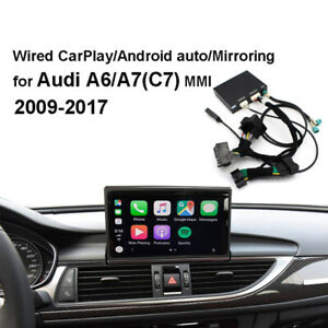 Apple android Auto Mirroring Carplay Decoder Kit Fit For Audi A6 A7 C7 Mmi
