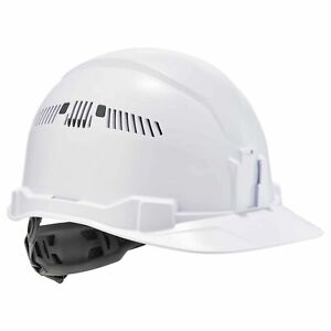 Ergodyne Skullerz Vented Cap Style Hard Hat With 4 Point Suspension White