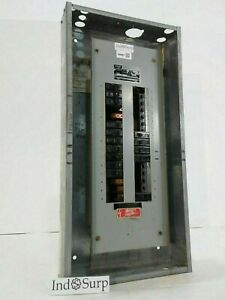 Fpe 225 Amp Panel With Breakers 120 208 Volt 3 Phase 4 Wire Type Nqlp