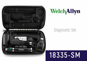 Welch Allyn 18335 sm Halogen Hpx Ophthalmic Set Including Coaxial Ophthalmoscope