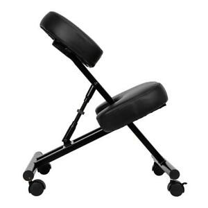 Sleekform Kneeling Posture Chair Rgonomic Office Desk Knee Adjustable Stool Us