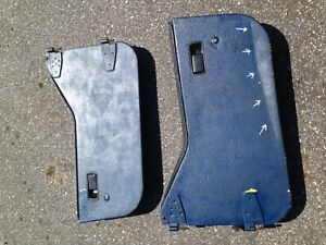 Jeep Yj Half Hard Doors 87 95 Wrangler Cj7 Left Right Passenger Driver