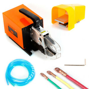Pneumatic Crimping Machine For Aluminum Oval Sleeves wire Rope Crimp Ferrules Us