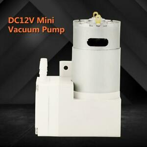 Dc12v Mini Vacuum Pump Negative Pressure Suction Pumping 7l min 76kpa 50w