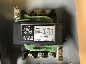 General Electric Ge Cr205d1 Size 2 Motor Starter In Enclosure With 120 Volt Coil
