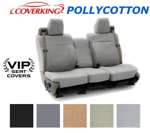 Coverking Pollycotton Custom Seat Covers For Toyota Sienna