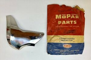1957 Plymouth Stone Shield Deflector Gravel Guard Right Side Nos 1759592
