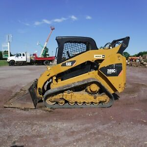 2012 Caterpillar 289c2 Compact Track Loader With Bucket