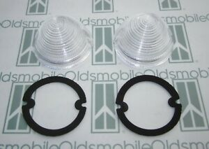 1955 Oldsmobile 88 98 1956 Cadillac Parking Light Lenses Gasket Set