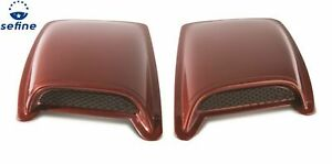 Avs 80002 Vented Cowl Induction 2pc Hood Scoop For Chevrolet Dodge