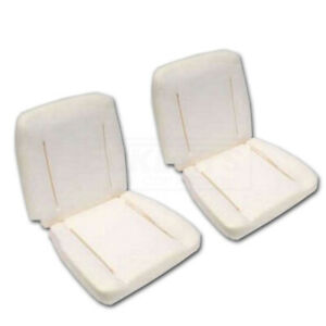 Full Size Chevy Bucket Seat Foam Pair Super Sport Ss Impala 1962 1963
