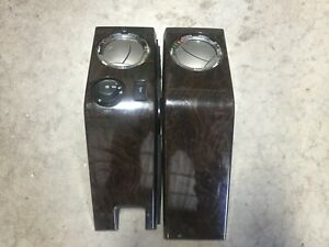 11 12 13 14 15 16 Ford F250 F350 Super Duty Outer Dash Wood Trim Bezel