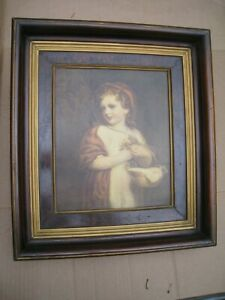 Antique Deep Picture Frame Eastlake Shadow Box Walnut Large 17 1 2 X 15 1 2