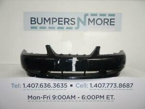 Oem 1999 2000 2001 2002 2003 2004 Ford Mustang Base Front Bumper Cover